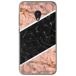 Funda Gel Tpu para Alcatel U5 (4G) / Orange Rise 52 diseño Mármol 07 Dibujos