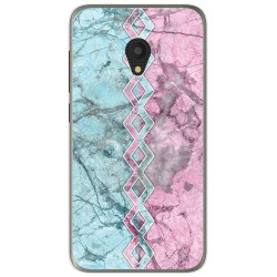 Funda Gel Tpu para Alcatel U5 (4G) / Orange Rise 52 diseño Mármol 08 Dibujos