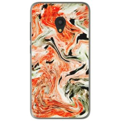 Funda Gel Tpu para Alcatel U5 (4G) / Orange Rise 52 diseño Mármol 12 Dibujos