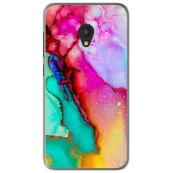 Funda Gel Tpu para Alcatel U5 (4G) / Orange Rise 52 diseño Mármol 15 Dibujos