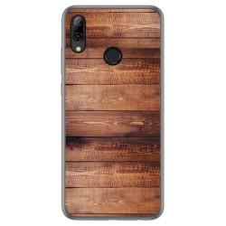 Funda Gel Tpu para Huawei P Smart 2019 / Honor 10 Lite diseño Madera 02 Dibujos