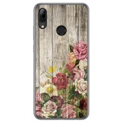 Funda Gel Tpu para Huawei P Smart 2019 / Honor 10 Lite diseño Madera 08 Dibujos