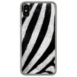 Funda Gel Tpu para Iphone  X / Xs diseño Animal 02 Dibujos
