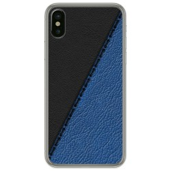 Funda Gel Tpu para Iphone X / Xs diseño Cuero 02 Dibujos