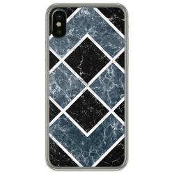 Funda Gel Tpu para Iphone X / Xs diseño Mármol 06 Dibujos