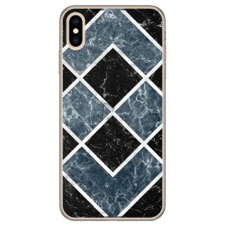 Funda Gel Tpu para Iphone Xs Max diseño Mármol 06 Dibujos