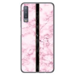Funda Gel Tpu para Samsung Galaxy A7 (2018) diseño Mármol 04 Dibujos