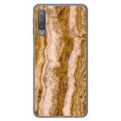 Funda Gel Tpu para Samsung Galaxy A7 (2018) diseño Mármol 10 Dibujos