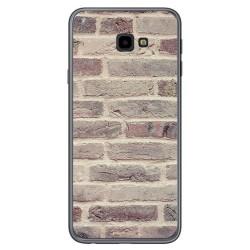 Funda Gel Tpu para Samsung Galaxy J4+ Plus diseño Ladrillo 01 Dibujos
