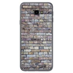 Funda Gel Tpu para Samsung Galaxy J4+ Plus diseño Ladrillo 02 Dibujos