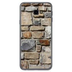 Funda Gel Tpu para Samsung Galaxy J4+ Plus diseño Ladrillo 03 Dibujos