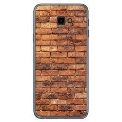 Funda Gel Tpu para Samsung Galaxy J4+ Plus diseño Ladrillo 04 Dibujos