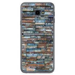Funda Gel Tpu para Samsung Galaxy J4+ Plus diseño Ladrillo 05 Dibujos