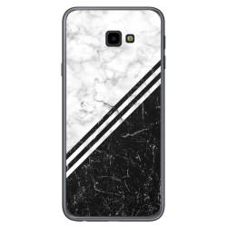Funda Gel Tpu para Samsung Galaxy J4+ Plus diseño Mármol 01 Dibujos