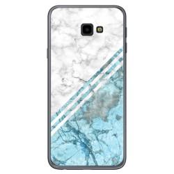 Funda Gel Tpu para Samsung Galaxy J4+ Plus diseño Mármol 02 Dibujos