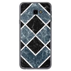Funda Gel Tpu para Samsung Galaxy J4+ Plus diseño Mármol 06 Dibujos