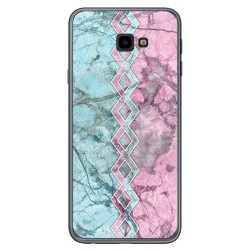 Funda Gel Tpu para Samsung Galaxy J4+ Plus diseño Mármol 08 Dibujos