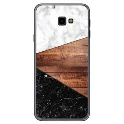 Funda Gel Tpu para Samsung Galaxy J4+ Plus diseño Mármol 11 Dibujos