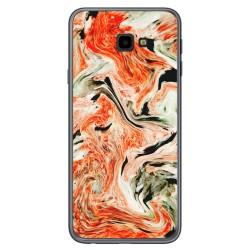 Funda Gel Tpu para Samsung Galaxy J4+ Plus diseño Mármol 12 Dibujos