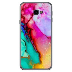 Funda Gel Tpu para Samsung Galaxy J4+ Plus diseño Mármol 15 Dibujos
