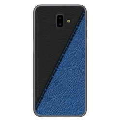 Funda Gel Tpu para Samsung Galaxy J6+ Plus diseño Cuero 02 Dibujos