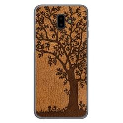 Funda Gel Tpu para Samsung Galaxy J6+ Plus diseño Cuero 03 Dibujos