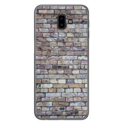 Funda Gel Tpu para Samsung Galaxy J6+ Plus diseño Ladrillo 02 Dibujos