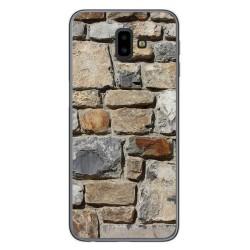 Funda Gel Tpu para Samsung Galaxy J6+ Plus diseño Ladrillo 03 Dibujos