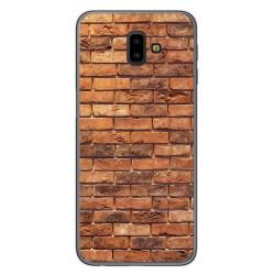 Funda Gel Tpu para Samsung Galaxy J6+ Plus diseño Ladrillo 04 Dibujos