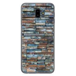 Funda Gel Tpu para Samsung Galaxy J6+ Plus diseño Ladrillo 05 Dibujos