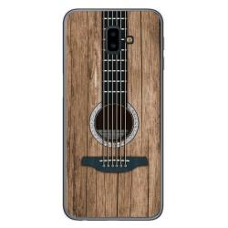 Funda Gel Tpu para Samsung Galaxy J6+ Plus diseño Madera 11 Dibujos