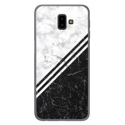 Funda Gel Tpu para Samsung Galaxy J6+ Plus diseño Mármol 01 Dibujos