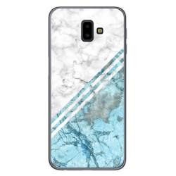 Funda Gel Tpu para Samsung Galaxy J6+ Plus diseño Mármol 02 Dibujos