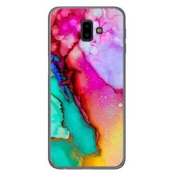 Funda Gel Tpu para Samsung Galaxy J6+ Plus diseño Mármol 15 Dibujos