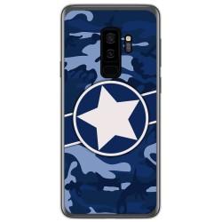 Funda Gel Tpu para Samsung Galaxy S9 Plus diseño Camuflaje 03 Dibujos