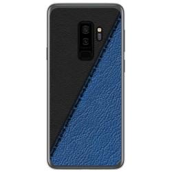 Funda Gel Tpu para Samsung Galaxy S9 Plus diseño Cuero 02 Dibujos