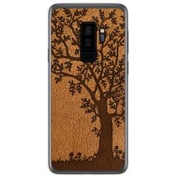 Funda Gel Tpu para Samsung Galaxy S9 Plus diseño Cuero 03 Dibujos