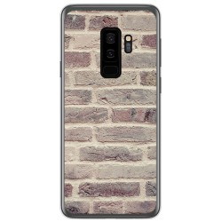 Funda Gel Tpu para Samsung Galaxy S9 Plus diseño Ladrillo 01 Dibujos