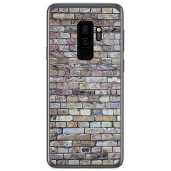 Funda Gel Tpu para Samsung Galaxy S9 Plus diseño Ladrillo 02 Dibujos