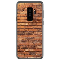 Funda Gel Tpu para Samsung Galaxy S9 Plus diseño Ladrillo 04 Dibujos