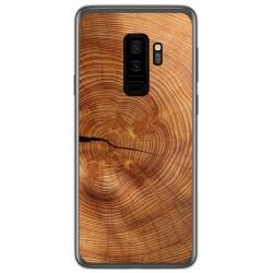 Funda Gel Tpu para Samsung Galaxy S9 Plus diseño Madera 04 Dibujos