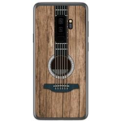 Funda Gel Tpu para Samsung Galaxy S9 Plus diseño Madera 11 Dibujos