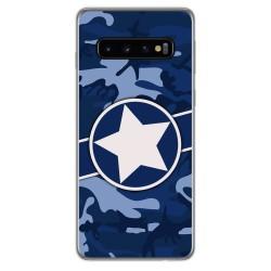 Funda Gel Tpu para Samsung Galaxy S10 diseño Camuflaje 03 Dibujos