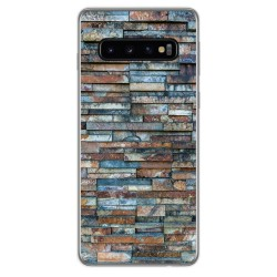 Funda Gel Tpu para Samsung Galaxy S10 diseño Ladrillo 05 Dibujos