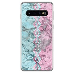 Funda Gel Tpu para Samsung Galaxy S10 diseño Mármol 08 Dibujos