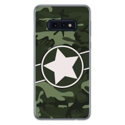 Funda Gel Tpu para Samsung Galaxy S10e diseño Camuflaje 01 Dibujos