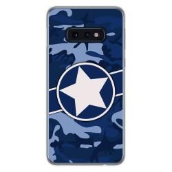 Funda Gel Tpu para Samsung Galaxy S10e diseño Camuflaje 03 Dibujos
