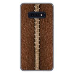 Funda Gel Tpu para Samsung Galaxy S10e diseño Cuero 01 Dibujos