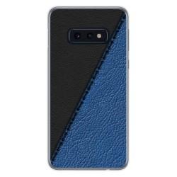 Funda Gel Tpu para Samsung Galaxy S10e diseño Cuero 02 Dibujos
