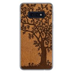 Funda Gel Tpu para Samsung Galaxy S10e diseño Cuero 03 Dibujos